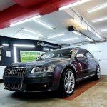 Audi S8 utána